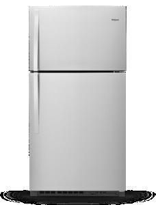 Réfrigérateur à congélateur supérieur, 33 po, 21 pi3