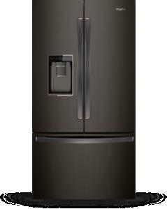 Réfrigérateur à portes françaises, 24 pi3