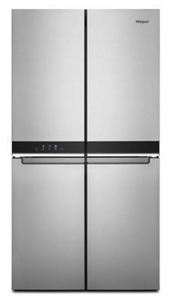 36-inch Wide Counter Depth 4 Door Refrigerator - 19.4 cu. ft.