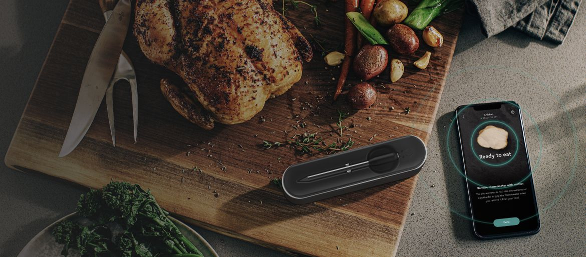 Yummly® Smart Meat Thermometer.