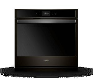 Smart Single Wall Oven in Fingerprint-Resistant Black Stainless Steel