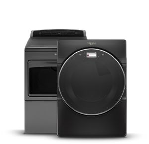 Whirlpool® laundry appliances offer great features for every family.