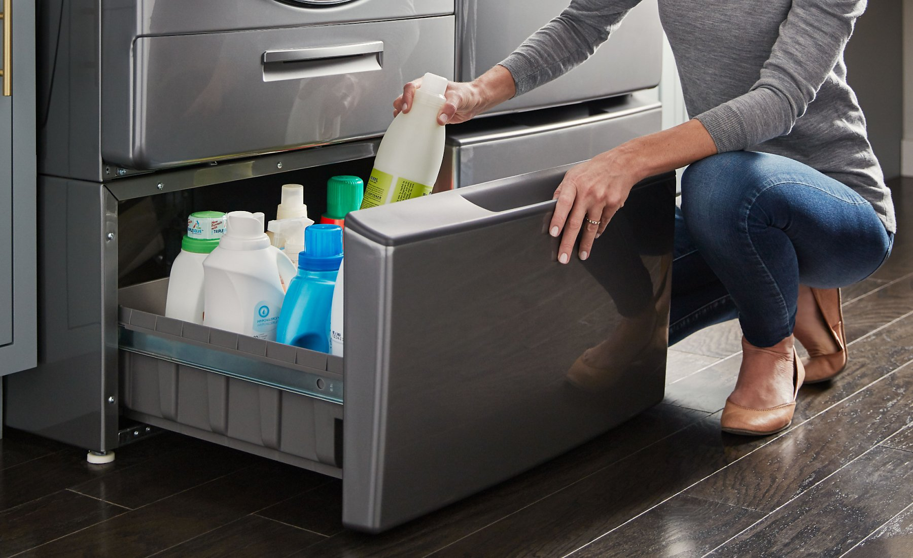 Washers with Load & Go™ dispensers