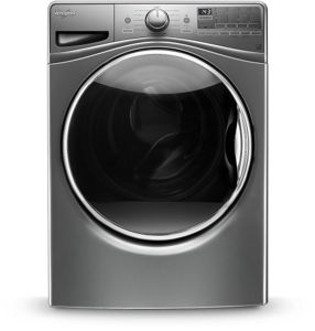 4.5 cu.ft Front Load Washer with Load & Go™, 12 cycles.