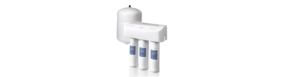Get clean water with under sink water filtration from Whirlpool.