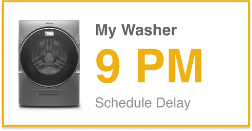 Schedule Wash Cycle