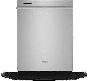 Fingerprint Resistant Dishwasher with 3rd Rack & Large Capacity