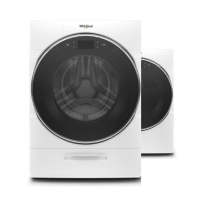 Whirlpool® Smart Front Load Washer and Dryer set