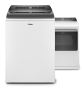 Whirlpool® Smart Capable Top Load Washer and Dryer set