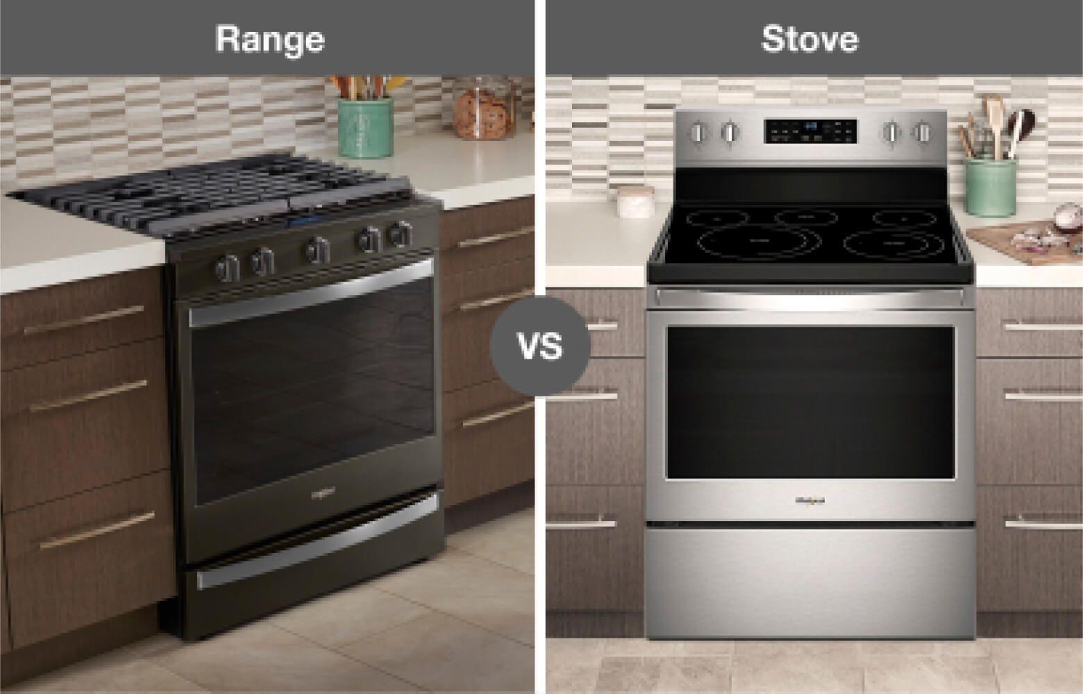 Whirlpool® kitchen range and stove
