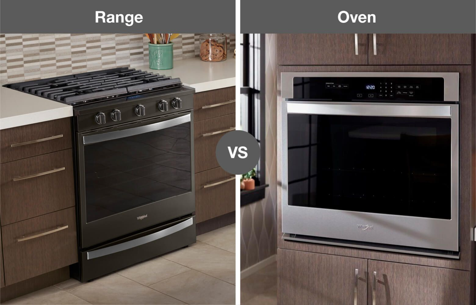 Whirlpool® kitchen range and wall oven