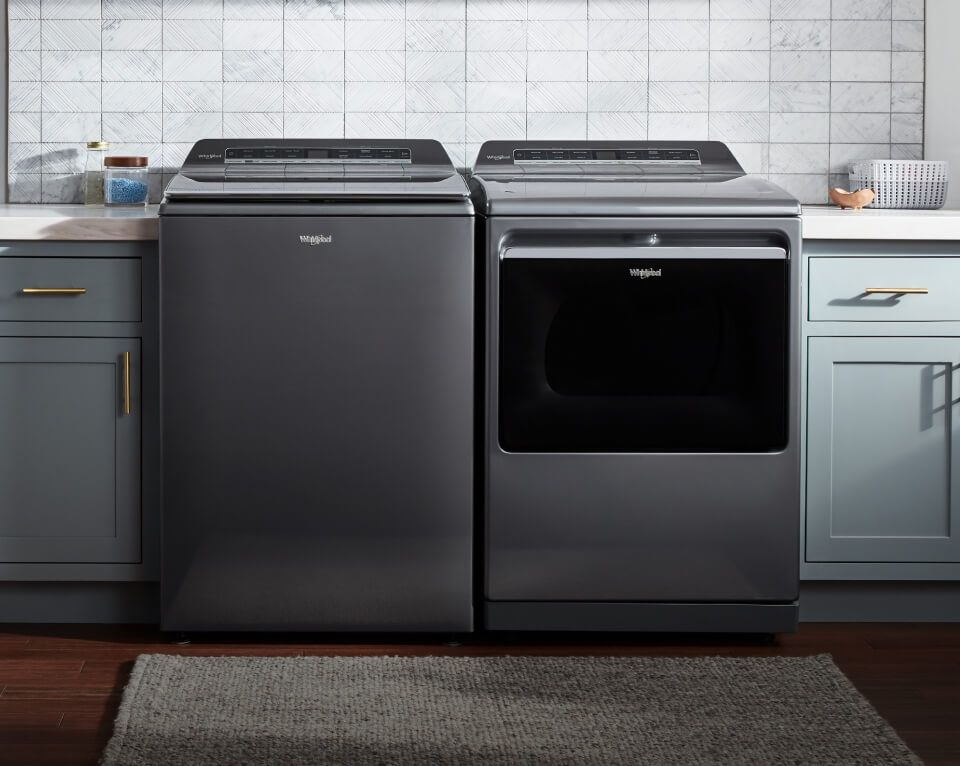 Whirlpool® Top Load Washer and Dryer set