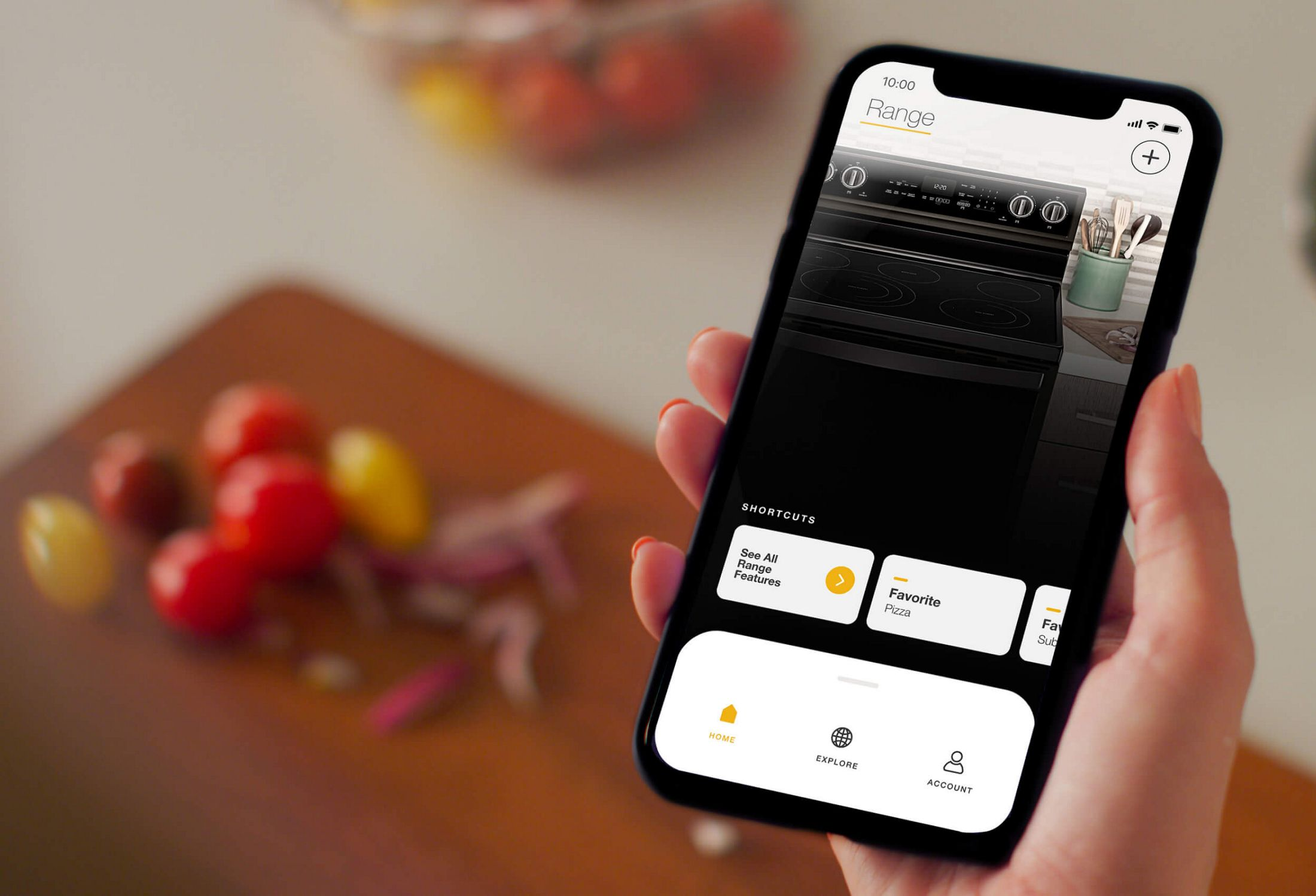 Appliances on My Home screen in the Whirlpool® app