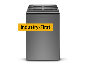 Smart Top Load Washer with the 2 in 1 Removable Agitator
