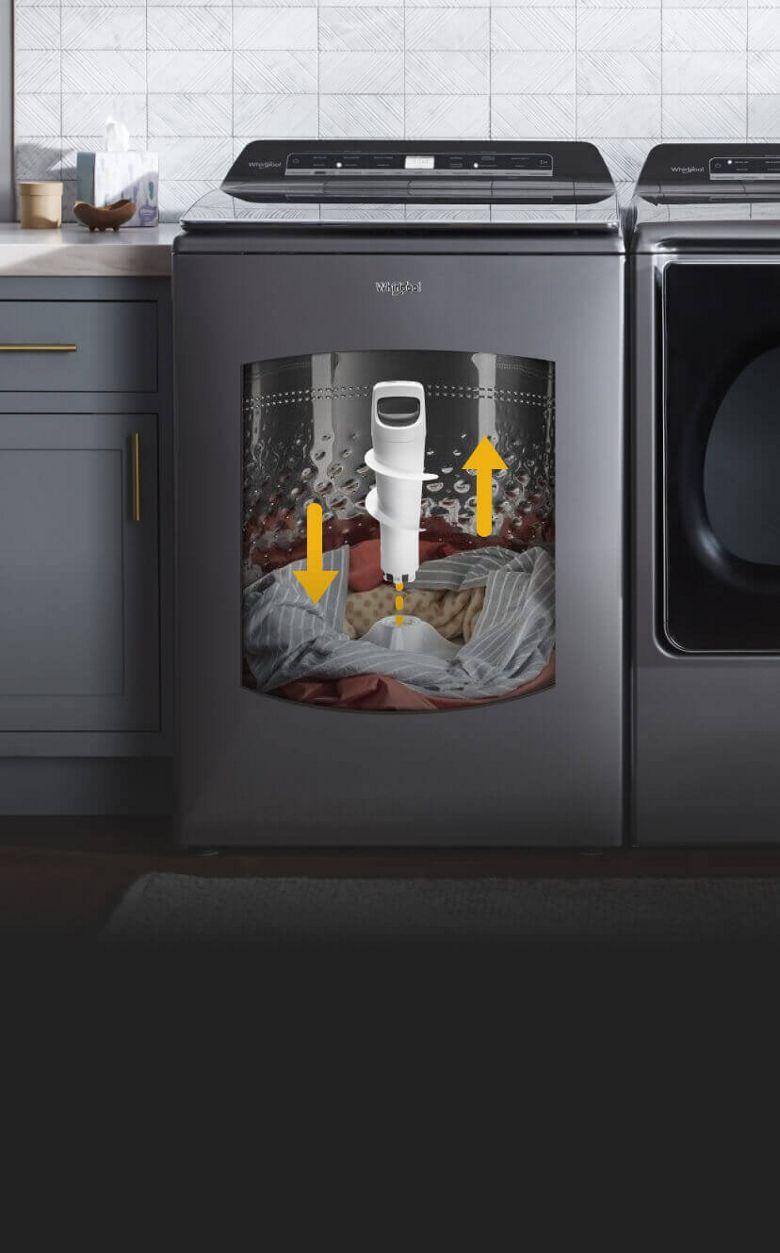 Innovative new Whirlpool® Washers.