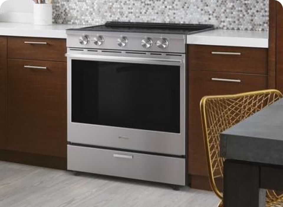 A kitchen with a Whirlpool® Range