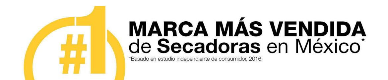 La marca más vendida de Secadoras en México
