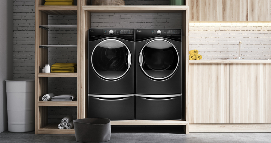 A new Whirlpool® appliance can help make household chores faster and easier.