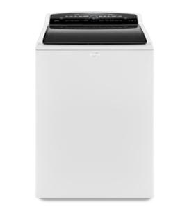 Lavadora Carga Superior con Impeller High Efficiency Whirlpool color blanco , con capacidad de 24 kg y pantel intuitivo touch 100% digital.