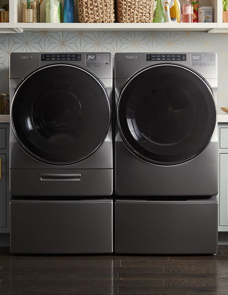 Save steps without sacrificing care with washing machines from Whirlpool.