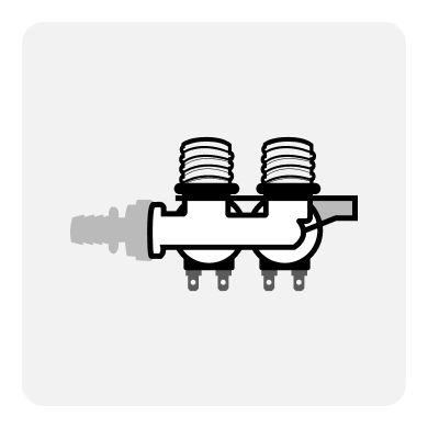 Water inlet control valve