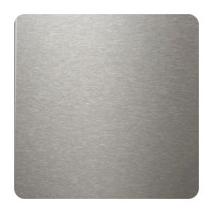 Close up of stainless steel grain