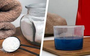 Liquid and powder laundry detergent