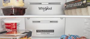 Cooling air vents inside a refrigerator