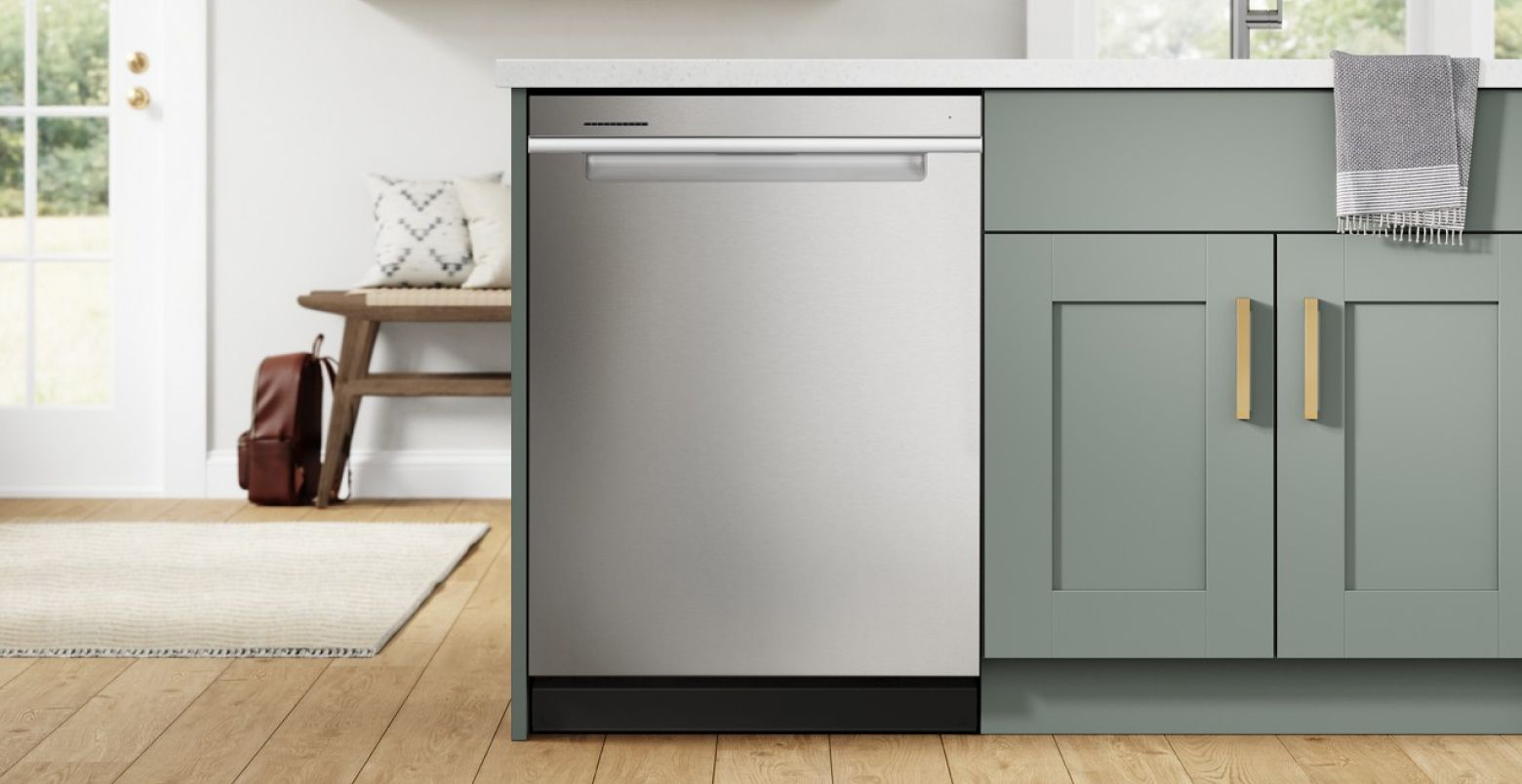 Click to explore dishwashers by finish