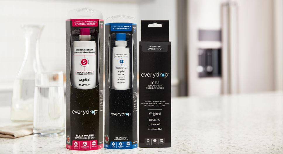 everydrop® water filters.