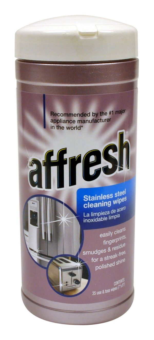 Image of Affresh Stainless Steel Cleaning Wipes 35 wipes