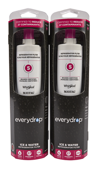 everydrop® Refrigerator Water Filter 5 - EDR5RXD1 (Pack of 2)
