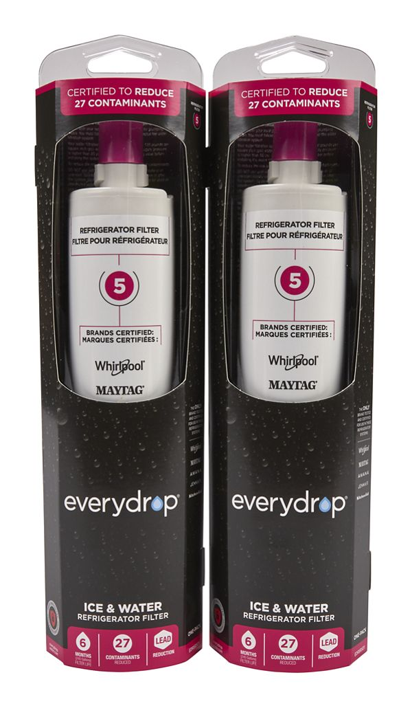 Image of everydrop® Refrigerator Water Filter 5 - EDR5RXD1 (Pack of 2)