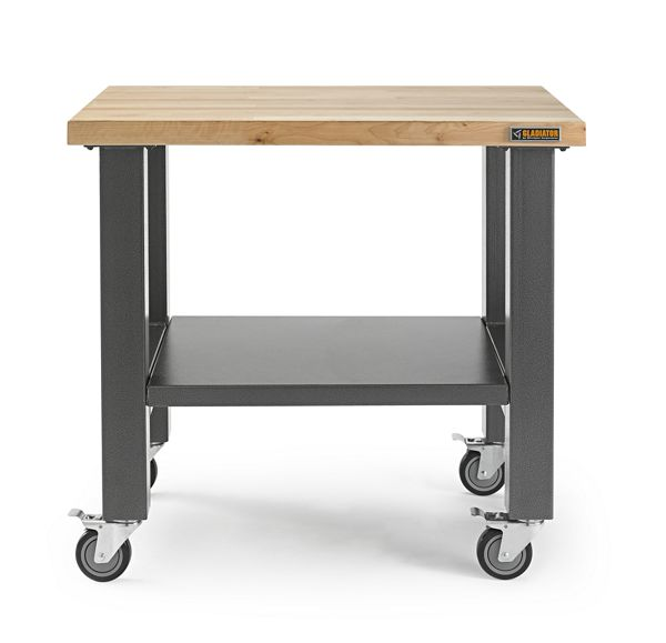 3' Wide Mobile Workstation
