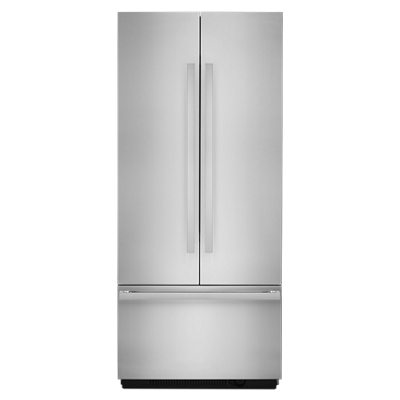 "NOIR™ 36"" Fully Integrated Built-In French Door Refrigerator Panel-Kit"