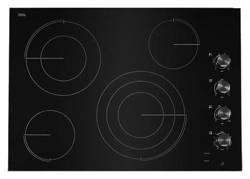 "Oblivian Glass 30"" Electric Radiant Cooktop"