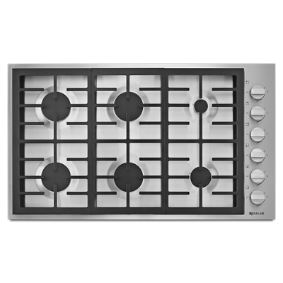 Pro Style 36 6 Burner Gas Cooktop