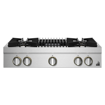 "RISE™ 36"" Gas Professional-Style Rangetop with Grill"