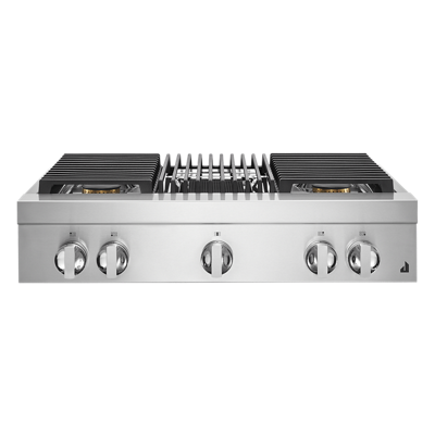 "NOIR™ 36"" Gas Professional-Style Rangetop with Grill"