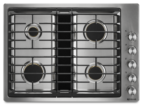 Euro Style 30 Jx3 Gas Downdraft Cooktop