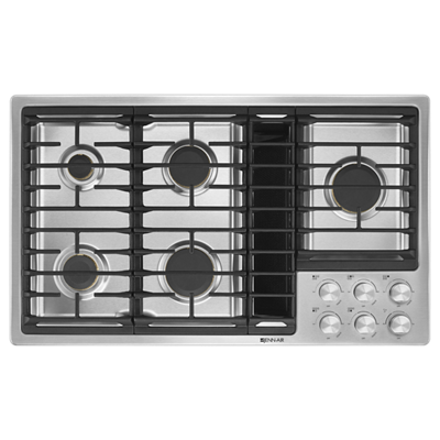"Euro-Style 36"" JX3™ Gas Downdraft Cooktop"