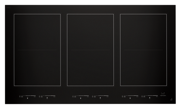 "Oblivion Glass 36"" Induction Flex Cooktop"