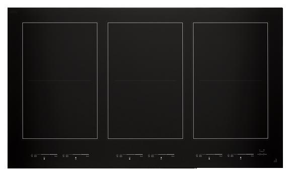 """Oblivion Glass 36"""" Induction Flex Cooktop"""