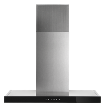 "Lustre Stainless 36"" Recirculating Wall-Mount Canopy Hood"