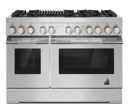 "RISE™ 48"" Dual-Fuel Professional-Style Range with Grill"