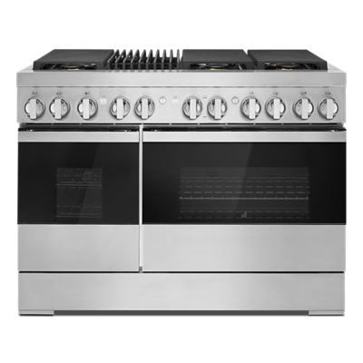"NOIR™ 48"" Dual-Fuel Professional-Style Range with Grill"