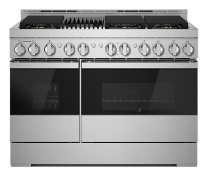 "NOIR™ 48"" Gas Professional-Style Range with Grill"