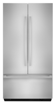 "NOIR™ 42"" Fully Integrated Built-In French Door Refrigerator Panel-Kit"