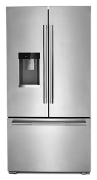 "RISE™ 72"" Counter-Depth French Door Refrigerator with Obsidian Interior"