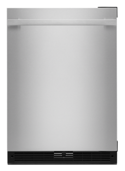 "NOIR™ 24"" Under Counter Solid Door Refrigerator, Right Swing"